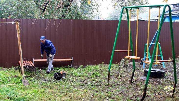 ВБрянске появится новая детская площадка