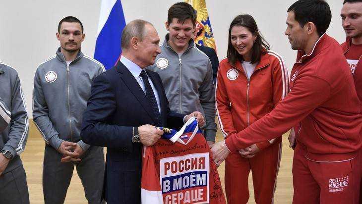 Брянские артисты поддержат олимпийскую сборную России