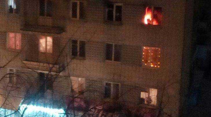 Вночь насреду избрянской пятиэтажки эвакуировали людей