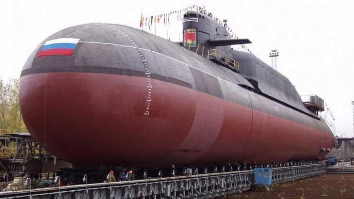 Срок службы атомной подлодки «Брянск» продлят на 3,5 года