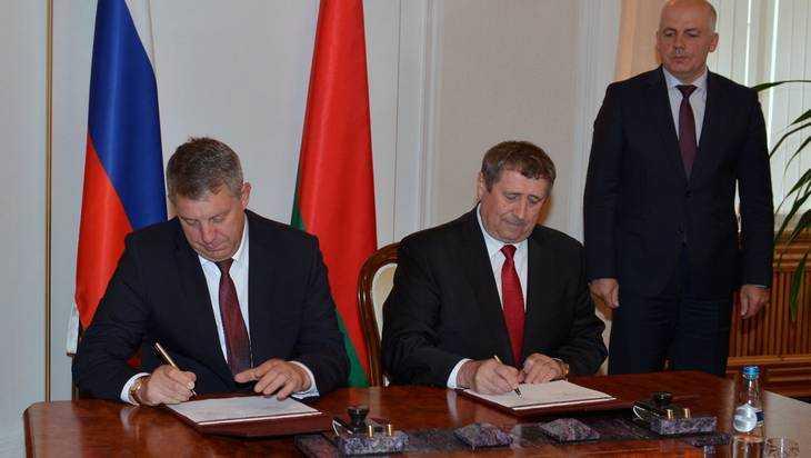 Беларусь иБрянская область усилят общее сотрудничество