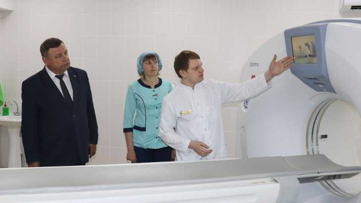 В Погарской больнице открыли кабинет компьютерной томографии