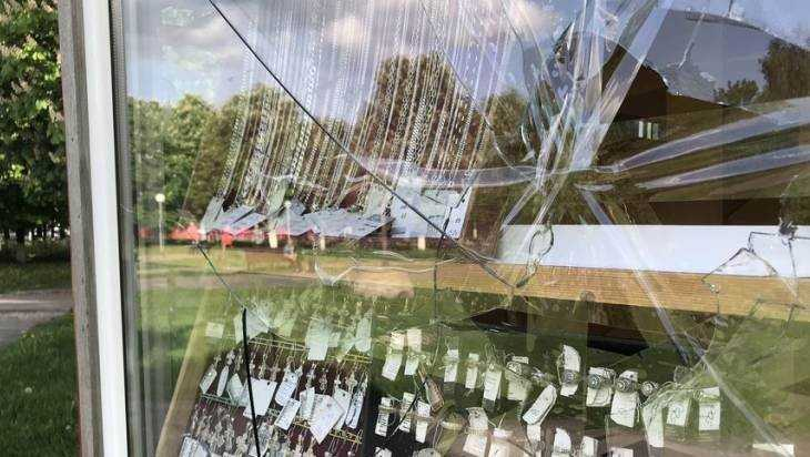 В Брянске начали расследование разгрома церковной лавки в сквере