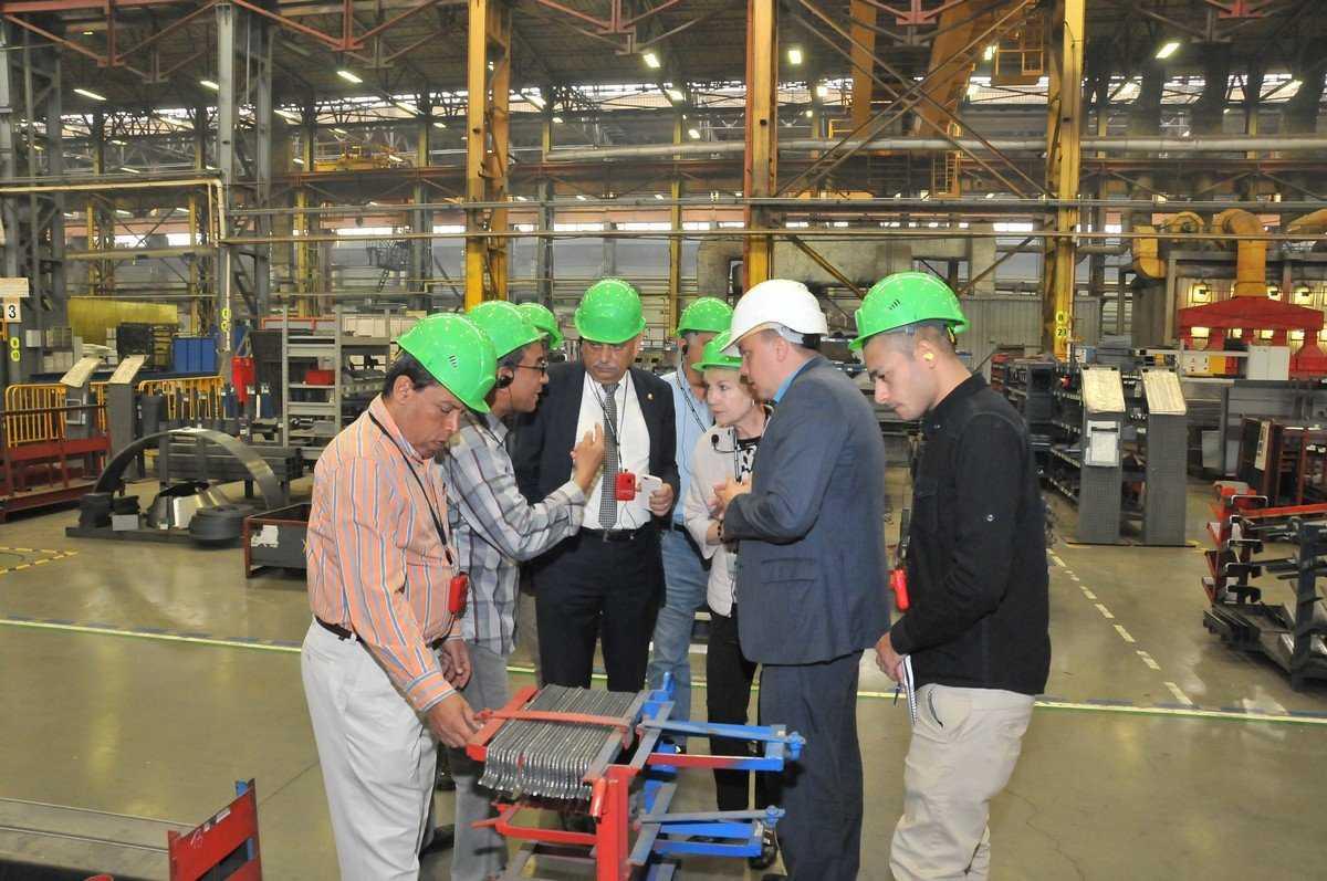 С производственной системой БМЗ познакомились гости из Египта
