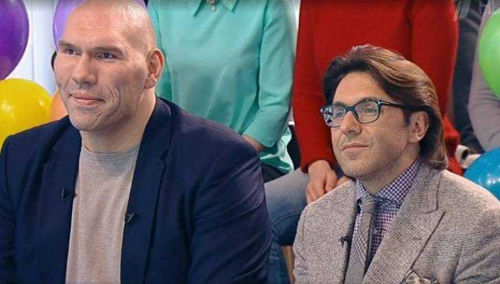 Андрей Малахов иНиколай Валуев оказались братьями— Родственные души