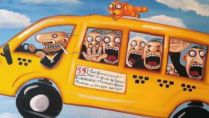 ВБрянске снова проверили работу маршрутных такси