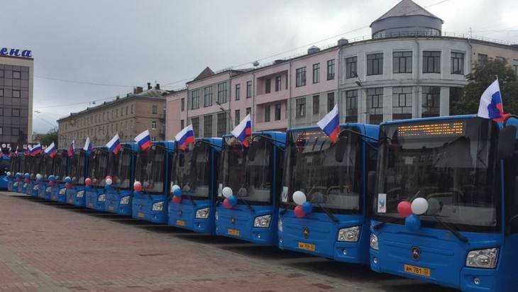 Брянск получил 28 новых автобусов