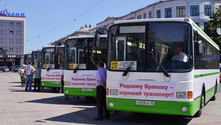 ВБрянске чиновники купят автобусы итроллейбусы на500 млн руб.