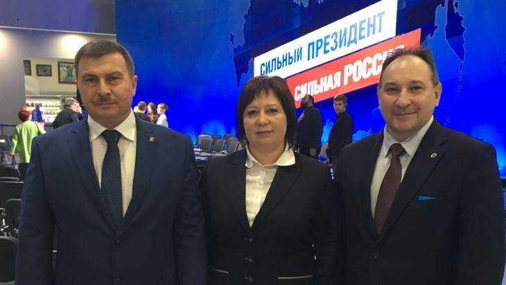 Граждане Брянской области заучастие В. Путина ввыборах Президента Российской Федерации