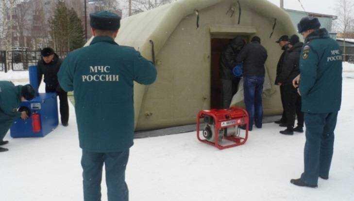 Натрассе «Брянск— Новозыбков» открыт пункт обогрева водителей