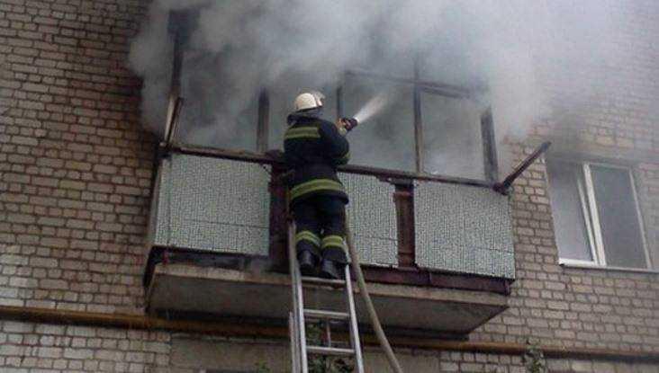 ВБрянске напроспекте Ленина из-за пожара эвакуировали 6 человек