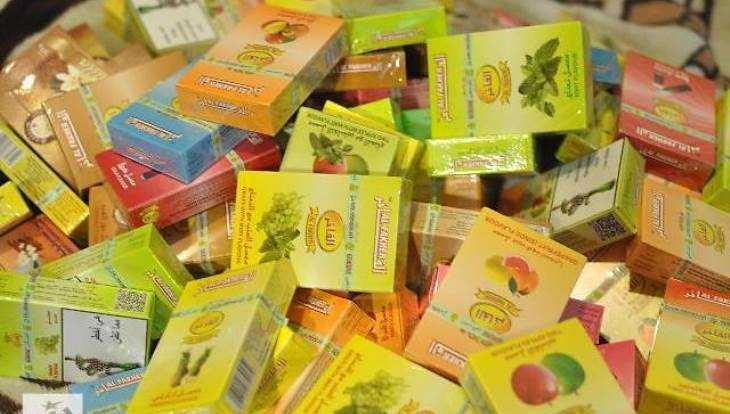 ВБрянске умолдаванки отобрали 220 пачек табака для кальяна