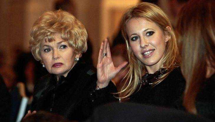 Роды уКсении Собчак принимали мать и супруг