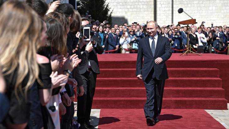 Александр Богомаз присутствовал вКремле нацеремонии инаугурации президента Российской Федерации В.Путина
