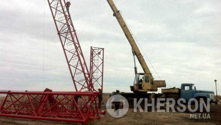 Украина начала строительство телевышки для вещания наполуостров Крым
