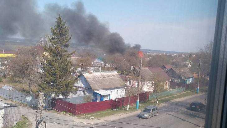 Из-за пожара наГородище Брянск встал вогромной пробке