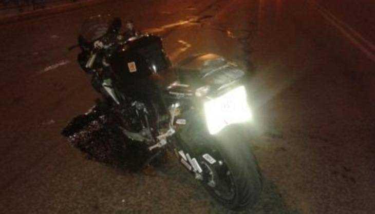 ВБрянске столкнулись такси имотоцикл, пострадала 15-летняя школьница