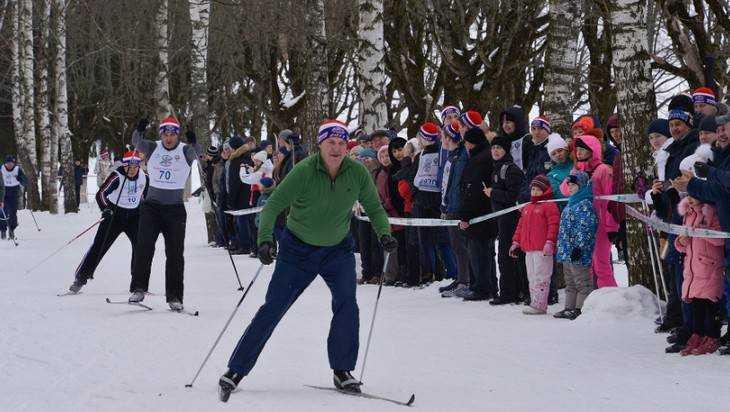 На «Лыжню России-2017» вБрянске вышли около 5-ти тыс. человек
