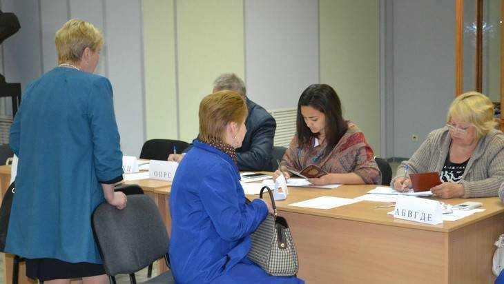 В Брянске явка на предварительном голосовании превысила 3 процента