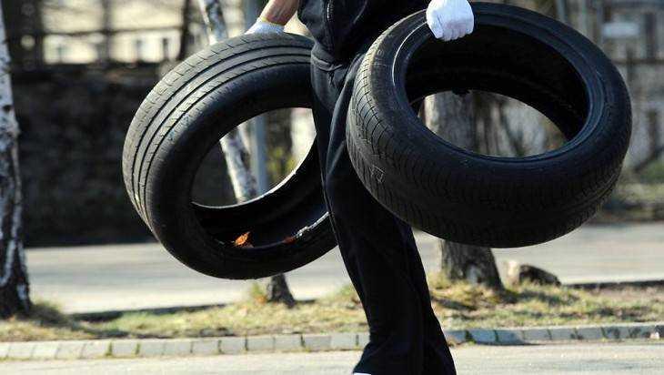 ВКлетне изгаража украли колеса иаккумулятор