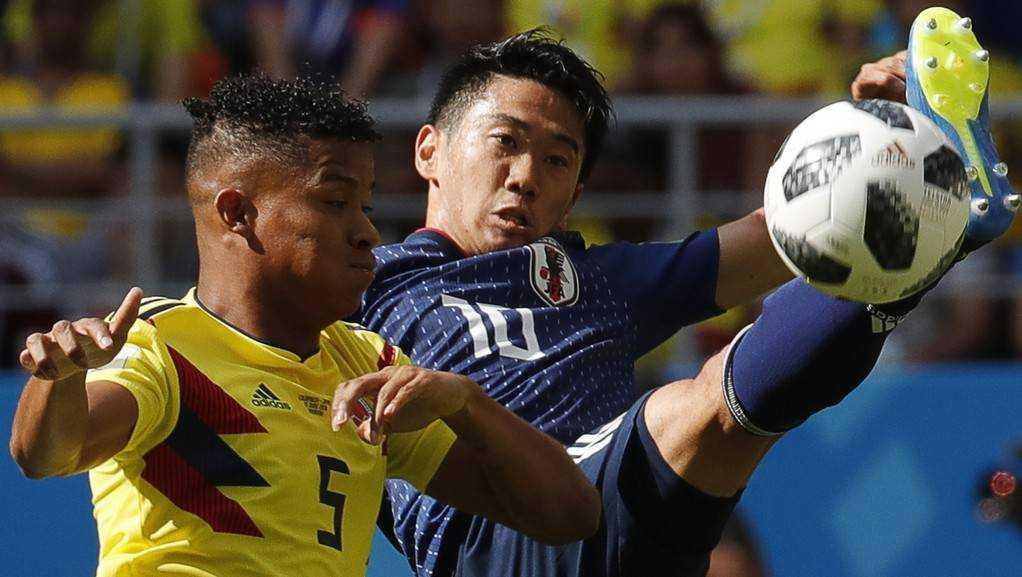 Сборная Колумбии проиграла команде Японии вматчеЧМ