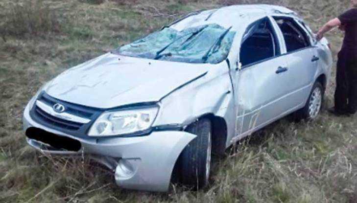 Аварийный вторник: под Суземкой умер шофёр «Гранты», улетевшей вкювет