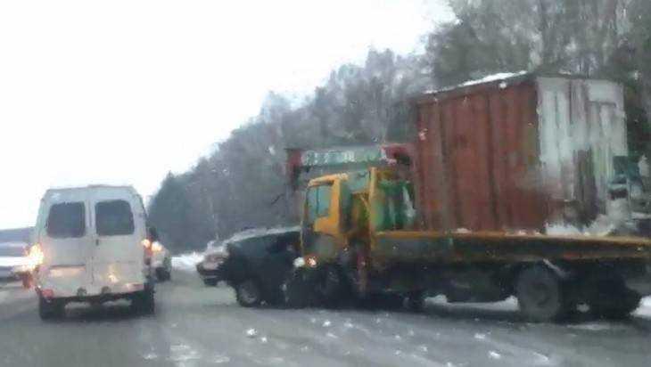 ВДТП под Брянском насмерть разбился двадцатилетний шофёр «Приоры»