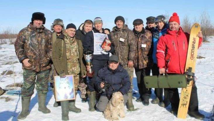 Под Трубчевском 150 лыжников сразились в охотничий биатлон