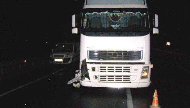 Натрассе Брянск— Смоленск столкнулись три фуры: ранен один шофёр