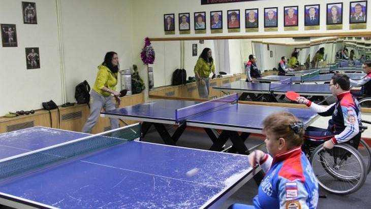 Вклубе для людей сограниченными возможностями «Пересвет» состоялись состязания понастольному теннису