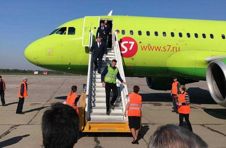 Ваэропорт «Брянск» прибыл 1-ый рейс изСанкт-Петербурга