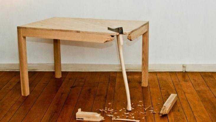 Гражданин Климово убил собутыльника ножкой стола