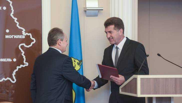 Власти Брянска иГомеля подписали соглашение осотрудничестве