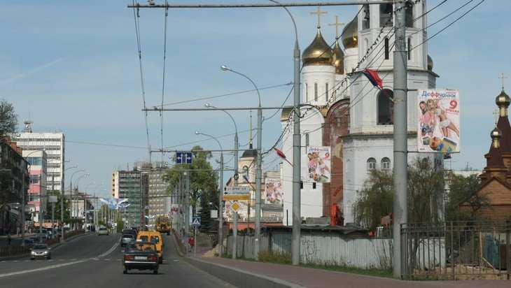 В Брянске возле Кафедрального собора уберут пешеходный переход