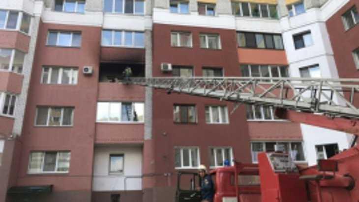 В Брянске на улице Романа Брянского загорелся балкон многоэтажки