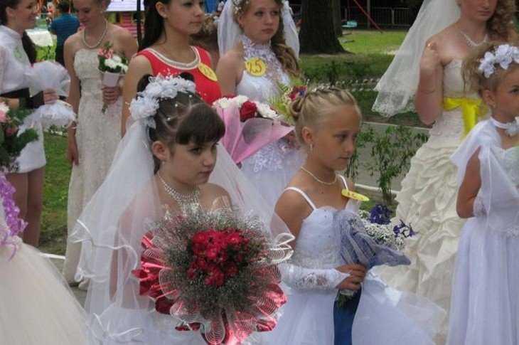 Парад невест сценарий
