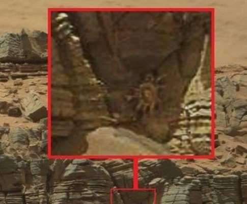 На поверхности Марса обнаружен летающий шар