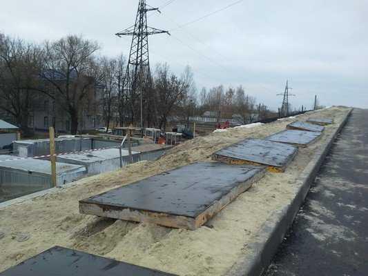 Путепровод у вокзала Брянск-I