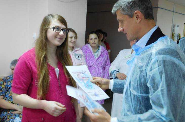 Впервые новогодние дни вКлинцах появились насвет 17 детей