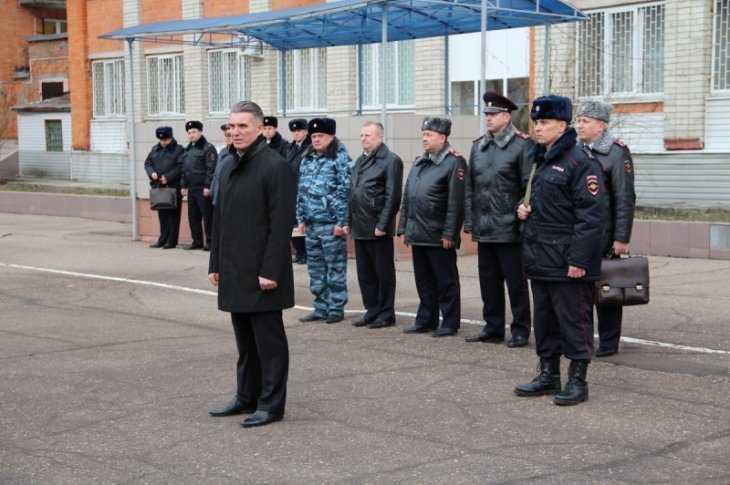 Полицейские Брянска направились вкомандировку наКавказ