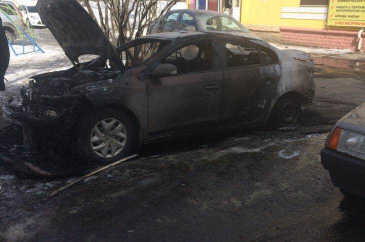 Наулице Пушкина вБрянске потушили пожар вжилом доме