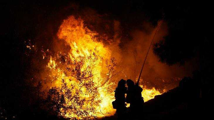ВКлимовском районе сгорел дом: имеется пострадавший