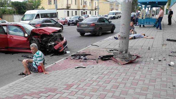 Пятеро человек пострадали вДТП наулице Калинина вБрянске