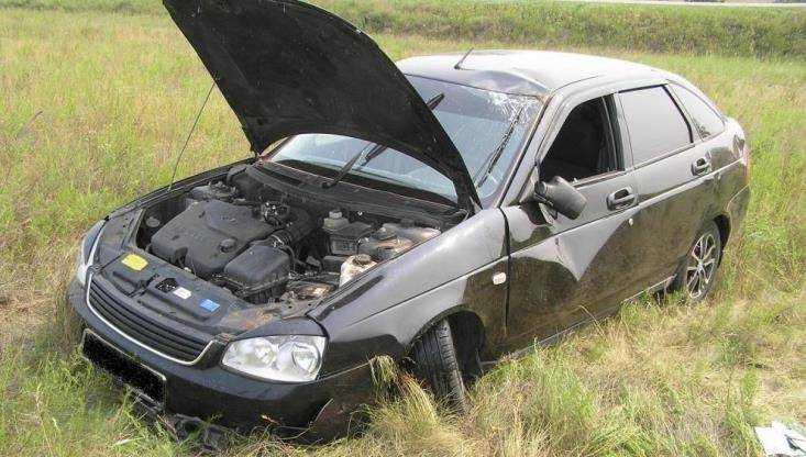 ВКлинцовском районе перевернулась Лада  Priora: умер  21-летний пассажир