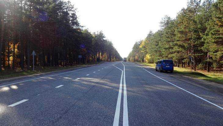 ВБрянской области в 2017-ом году отремонтировали 100км федеральных автомобильных дорог
