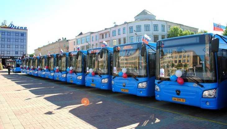 Брянск получил 36 новых автобусов