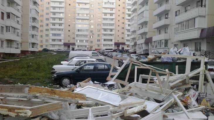 Брянские чиновники сообщили орае в164 тесных дворах