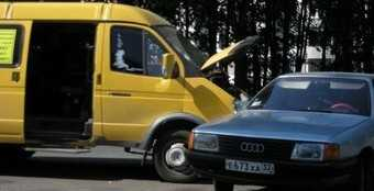 Восемь пассажиров брянский маршрутки пострадали в ДТП
