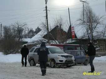 ГИБДД: осторожно — снег!