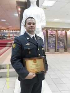 Брянский полицейский признан лучшим следователем России